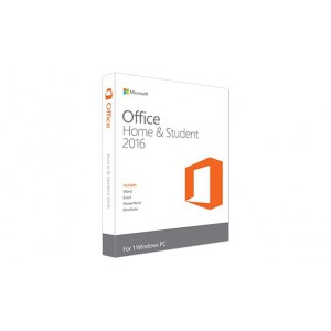 Microsoft Office 2016 Home & Student Software - FPP - for Windows