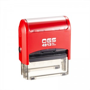CGS Pro Custom Rubber Stamp Self Inking 6 Lines