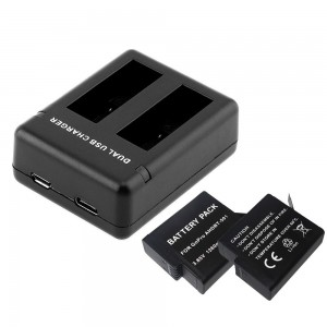 GoPro HERO Dual Battery Charger with 2 Batteries for GoPro HERO Cameras