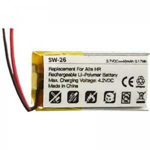 Replacement Battery for Fitbit Alta HR (0.17Wh)