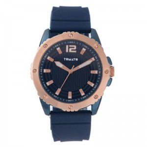 Tomato Gents Navy+Rosegold Dail 44mm Case Watch
