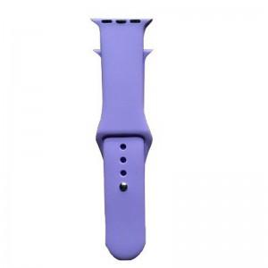 Apple Silicone Watch Strap 42mm-Light Purple