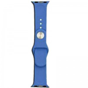Apple Silicone Watch Strap 38mm-Blue