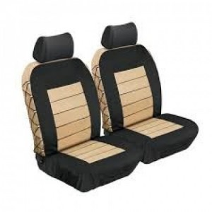 Stingray ULTIMATE HD FRONT SEAT COVERS (BEIGE) Car Seat Covers
