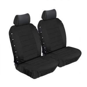 Stingray ULTIMATE HD FRONT SEAT COVERS (BLACK/BLACK) Car Seat Covers