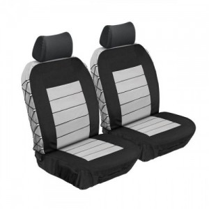 Stingray ULTIMATE HD FRONT SEAT COVERS (GREY) Car Seat Covers