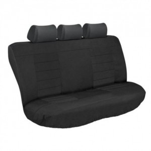 Stingray ULTIMATE HD REAR SEAT COVERS (BLACK/BLACK) Car Seat Covers
