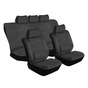 Stingray GRANDEUR 11PC BLACK Car Seat Covers