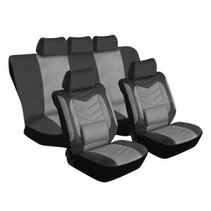 Stingray GRANDEUR 11PC GREY Car Seat Covers