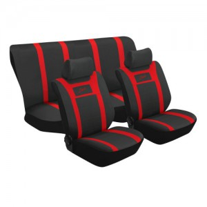 Stingray SPORT 6PC (RED) Car Seat Covers