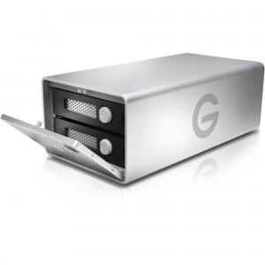 G-Tech G-Raid with Removable Drives Thunderbolt 2|USB3.0 8TB