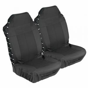 Stingray EXPLORER FRONT 2 PC BLACK Car Seat Covers