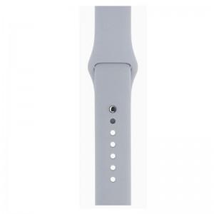 Apple Silicone Watch Strap 42mm-Grey