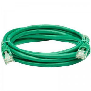QiX Q666-15mGreen 15m Cat 6 High Quality Patch Cable - Green