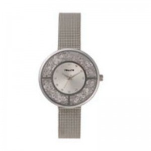 Tomato Ladies Silver+Stones Dial Silver 36mm Case Watch
