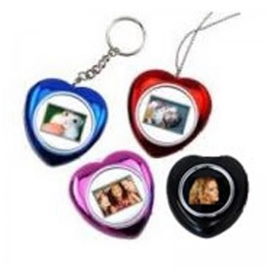Esquire DPF202-R Heart Necklace Photo Frame Colour-Red