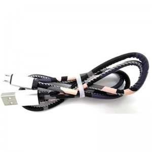 iJam Micro USB Sync and Charge Cable for Mobile Phones - 1m - Camo Pink