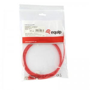 Equip 825420 Net/W Cat5E Patch 1m Cable - Red