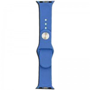 Apple Silicone Watch Strap 42mm-Blue