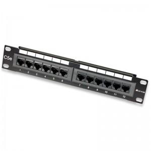 "Intellinet 167642 12-Port 10"" 1U Patch Panel"