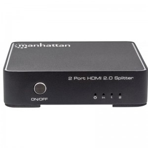 Manhattan 207591 4K 2-Port HDMI Splitter