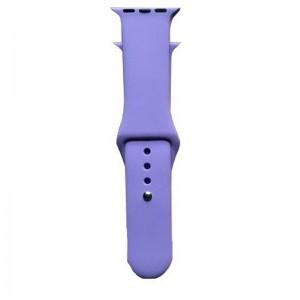 Apple Silicone Watch Strap 38mm-Light Purple