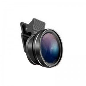 Clip on Zoom Lens 10x Wide Angle and Macro Cellphone and Tablets Camera Lens