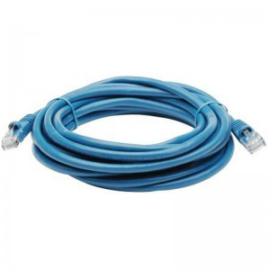 QiX Q666-10mBlue 10m Cat6 High Quality Patch Cable - Blue