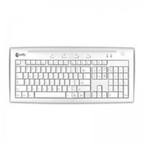 Macally  IKEY5U Hi-Speed USB 2.0 Slim Keyboard - White