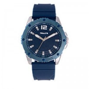 Tomato Gents Navy Dail Silver+Blue 44mm Case Watch