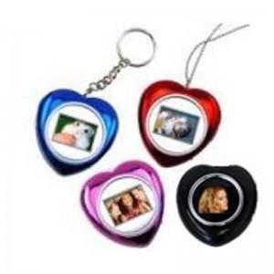 Esquire DPF202-S Heart Necklace Photo Frame Colour:Silver