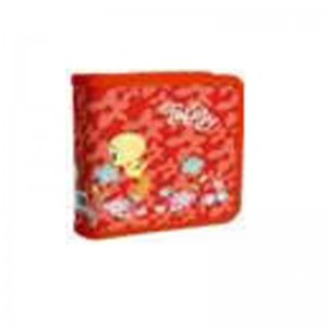 Tweety W50001-C-RED 40 CD Wallet Colour: Red