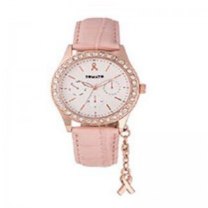 Tomato Ladies 'Bca' Charm  Ip R/G Case,Sil Dial + Nude Strap 38mm F18 Watch