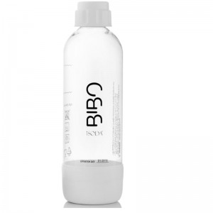 Bibo BFPB1001 Fizz Bottle 1 Litre - White