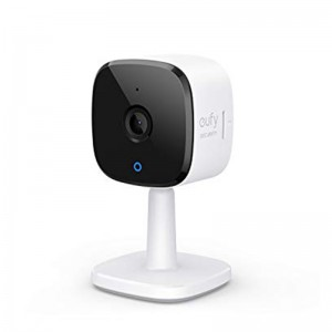 Eufy Indoor Security Cam 2k Night Vision works with Voice Assistant, Open Box, Very Good Condition, (Minor Scratches)