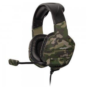 Voyager Gaming Headphones with Mic - Green