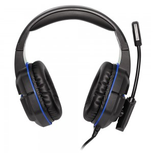 Voyager Gaming Headphones with Mic - Black
