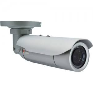 ACTi E46A 3MP IP Bullet Camera with Superior WDR, Audio Support and 2.8 to 12mm Varifocal Lens