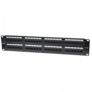 Intellinet 513579 48-Port Cat5e Patch Panel - UTP, 2U