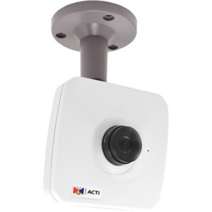 ACTi E13A 5MP PoE Network Cube Camera with 2.8mm Fixed Lens
