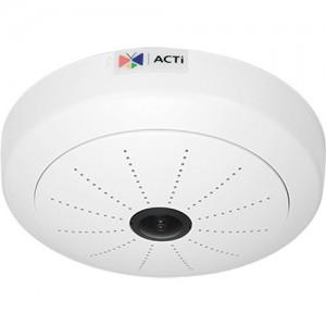ACTi I51 5MP Indoor Day/Night ePTZ Hemispheric IP Dome Camera with 1.05mm Fixed Fisheye Lens