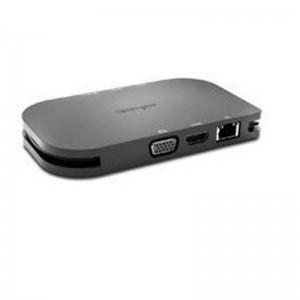 Kensington K33968EU SD1600P USB-C Mobile 4k Dock With Pass-Through Charging