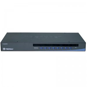 TrendNet TK-804R 8 Port Stackable Rack Mount KVM Switch with On Screen Display