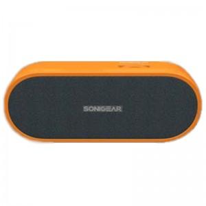 SonicGear 2GONOWORANGE 2GO NoW-Trio-Power Portable Speaker System -Orange