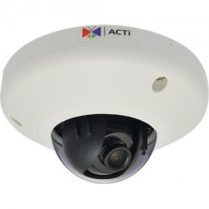 ACTi E96 5 Mp WDR Vandal-Resistant Indoor Mini Fisheye Dome Camera (NTSC)