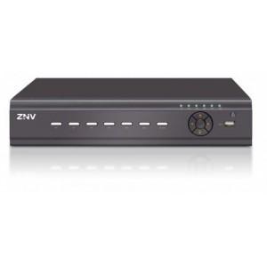 ZNV 4-Channel Embedded NVR, 4X 720P @ 30FPS, 4X 1080P @ 15FPS, HDMI & VGA & BNC Video Out, 1X HDD Bay