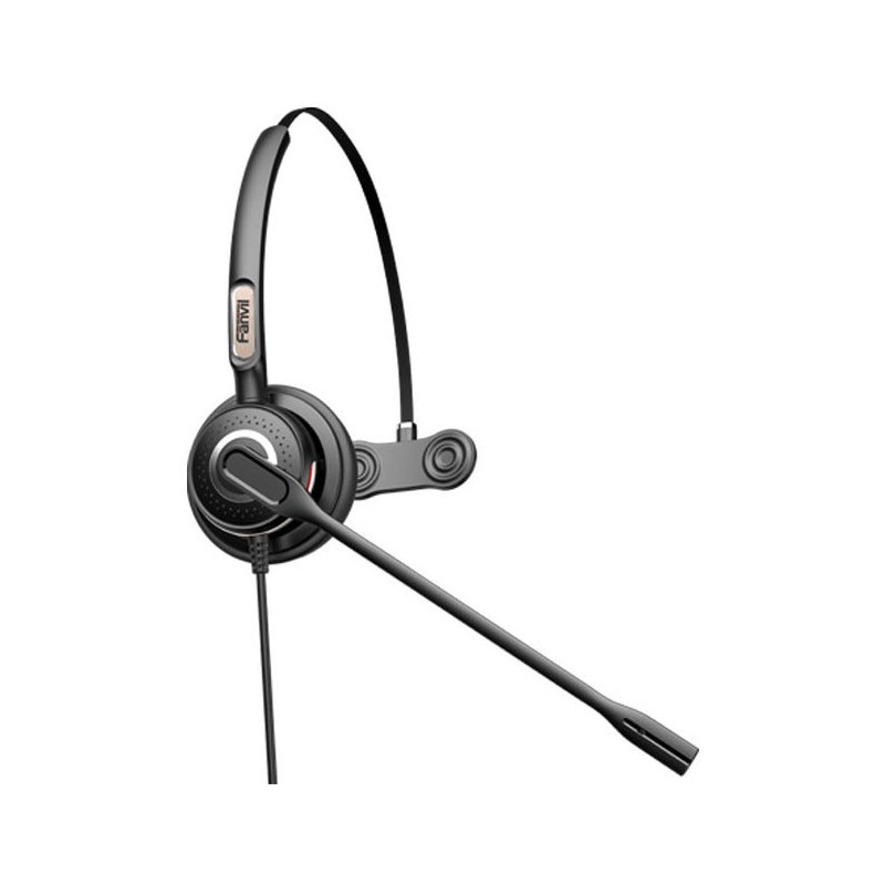 Fanvil RJ9 Monaural On-Ear headset with Mic - HT201