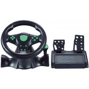 Gaming Steering Wheel with Pedals for XBOX360/PS2/PS3/PC