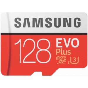 Samsung Evo+ MicroSDXC 128GB including Adapter
