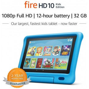 "Fire HD 10 Kids Edition Tablet 10.1"" 1080p full HD Display - 32 GB"
